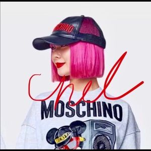 BNWT Moschino H&M embroidered unisex hat